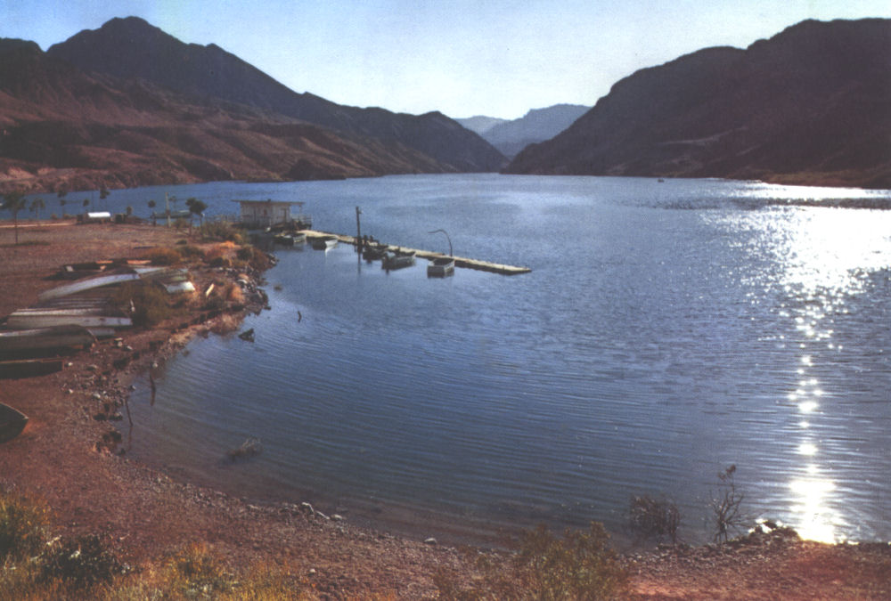 Telephone engineering in the south west for Lake mohave fishing